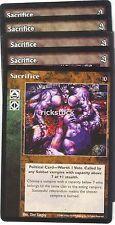 Sacrifice x5 SE TAE VTES Jyhad