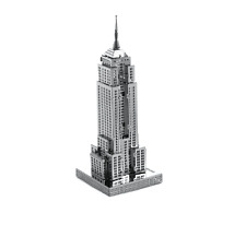 Metal Earth Fascinations Famous Architektur Metal Puzzle, lader cut models