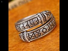 Viking Dragon Rune Celtic Ring Size S-T