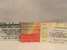 3 - Frankie Valli Concert Ticket Stubs