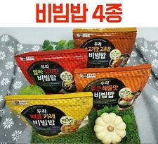Easy Cook Korean Food 4 Tastes Bibimbap Asian FoodJust pour hot water * 4EA