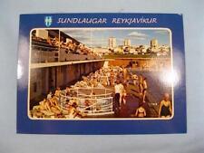 Sundlaugar Reykjavikur Iceland Unused Postcard Solarfilma Photograph Photo (O)