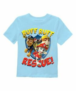 Nickelodeon PAW Patrol TO THE RESCUE! RUFF! Toddler T-Shirt BNWT