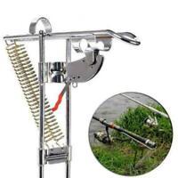 Lengthened Automatic Adjustable Tackle Bracket Double Rod Fishing Holder T1Y5