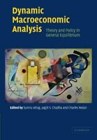 Dynamic Macroeconomic Analysis : Theory and Policy in General Equilibrium