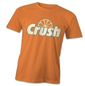 Retro crush T-Shirt, 1980's vintage tee, eighties pop culture orange crush drink