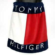Tommy Hilfiger Beach Towel Wrap Swimsuit Cover Up Elastic Streetwear 48x20