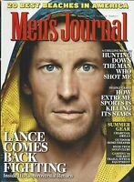 Men's Journal Magazine Lance Armstrong Best American Beaches Extreme Sports Gear