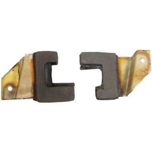 1955-1957 Chevrolet & Pontiac 2dr Hardtop Lock Pillar Filler U Jamb Seals