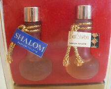 JUDITH MULLER ISRAEL  MINI SET OF 2 PERFUME ( HALF  FULL )  BOTTLES