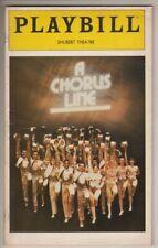 "Bebe Neuwirth   ""A Chorus Line""   Playbill   1981   Broadway    Michael Bennett"