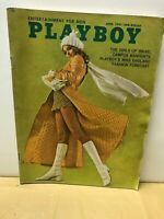VINTAGE PLAYBOY MAGAZINE APRIL 1970 ISSUE