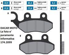 174.2099 PASTIGLIE FRENO SINTERED POLINI SYM  JET4 50 4T Corsa 46 mm. (XS1P37QMA
