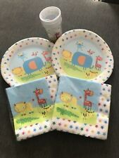 Party Plates, Napkins And Cups
