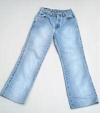"""Vtg Ralph Lauren Flare Leg Jeans Denim 4 Blue 26"""""""