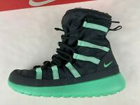 Nike Roshe One Hi SE Anthracite/Green Shoes/Boots Size 7Y 8.5 Womens NEW