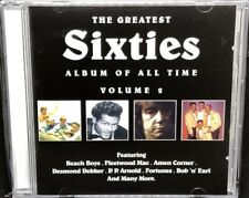 THE GREATEST SIXTIES ALBUM OF ALL TIME VOL.2 - VARIOUS ARTISTS, CD ALBUM, (1999)