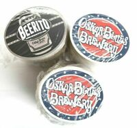 "Bulk Wholesale Lot of 375 Oskar Blues Brewery Authentic 4"" x 3"" Beer Coasters"