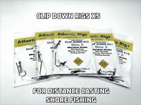 LONG DISTANCE CLIP DOWN SEA FISHING RIGS COD BASS PLAICE