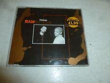 RAW STYLUS - Change - 1996 UK 5-track CD single