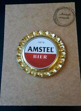 BOTTLE CAP FRIDGE MAGNET AMSTEL