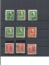Sbz, zona soviética de 1945 michelnrn: ex 92 - 99 o, con sello, valor de catálogo € 28