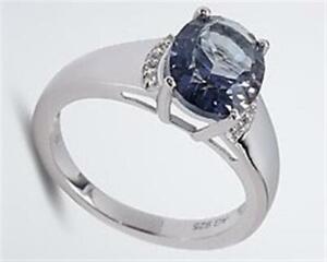 Harry Ivens IV Ring Silber 925 mit Mystic Quartz und Weißtopas