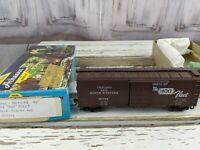 chicago 10779 400 fleet northwestern train boxcar car freight toy HO