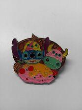 Disney Pin HKDL Stitch & Scrump Ice Cream Heads ( Banana Split PTD)