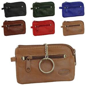 Branco Leder Schlüsseltasche Schlüsseletui Schlüsselmappe Auto Etui Tasche 019