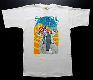Grateful Dead Shirt T Shirt Vintage 1988 Motorcycle Bike Laguna Seca GDM L New