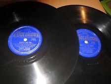 78RPM 2 Frankie Masters Vocalion, Polka Dots, Exactly Lik Tumbledown Arizona VV+