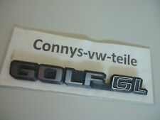 Embleme Schriftzug VW Golf GL VW Golf 1 Cabrio RAR