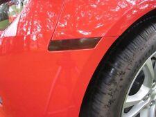 2010-2015 Camaro [10CC_FM] Front Side Marker Lights - Vinyl Tint 20% - Smoke