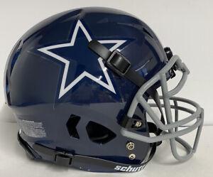 Dallas Cowboys Custom Full Size Authentic Schutt Vengeance Football Helmet Navy