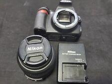 Nikon D3100 14.2MP Digital SLR Camera Black Kit w/ AF-S DX VR 18-55mm Lens
