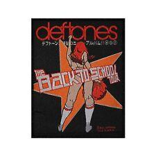 "Deftones Band 2000 ""Back To School Tour"" (Mini Maggot) Sew On Applique Patch"
