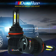 DuraFlux 9007 HB5 72W CREE COB LED Headlight Kit 18000LM Hi/Low Beam Bulb White