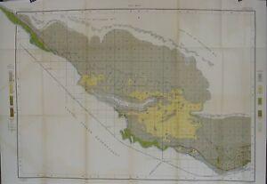 Original 1901 USDA Map SUNNYSIDE Yakima County Washington Toppenish Zillah Satas