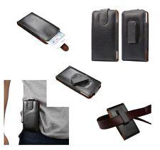 for DELL STREAK Genuine Leather Holster Case belt Clip 360° Rotary Magnetic