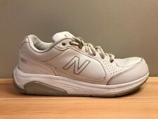 New Balance 925 White Leather Oxford Walking Athletic Shoes Women's Size 10
