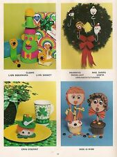 Birthday & St Patricks Day Projects - Macrame Books: #1206 Crafts Kids Can Do