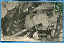 CPA: Catastrophe du Liberté - Tourelle de 240 babord avant renversée