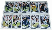 Score 2018 LOS ANGELES RAMS Football Trading Cards NFL Team Set