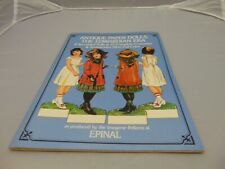 1975 Dover Antique Paper Dolls The Edwardian Era 8 2 sided dolls 32 costumes