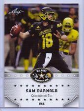 """SAM DARNOLD 2015 LEAF """"1ST EVER PRINTED"""" U.S. ARMY HIGH SCHOOL ROOKIE CARD!"""