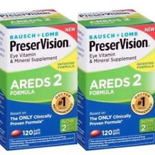 Bausch Lomb Preservision AREDS 2 Formula Softgels 240 Pack