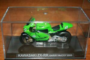GARRY MCCOY KAWASAKI ZX-RR 2003 1:24 IXO - Rare