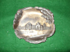 ANTIQUE PALACE OF LIBERAL ARTS ST LOUIS WORLDS FAIR 1904 BRASS TRAY  3 ¾ inch