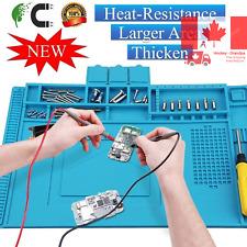 Voniry Anti-Static Soldering Mat Cellphone Repair Mat Heat-Resistant Magnetic...